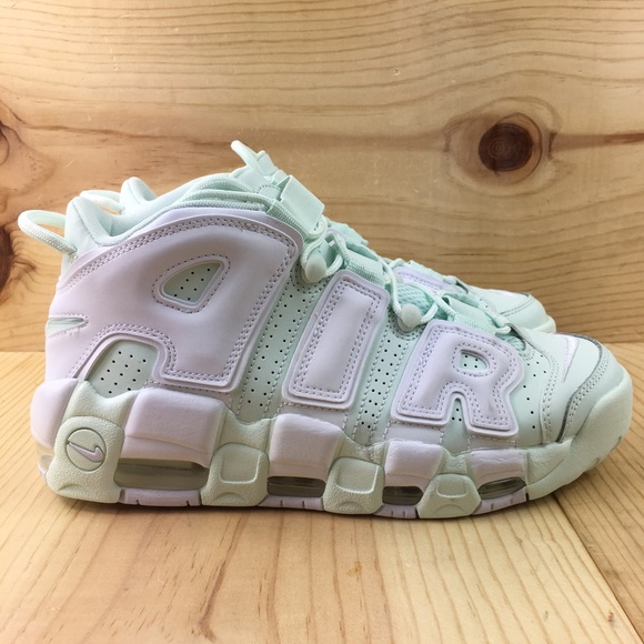 Nike Air More Uptempo Barely Green Size 8.5 Womens NWT